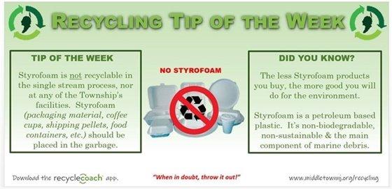 Recycling Tip of the Week: Week 4