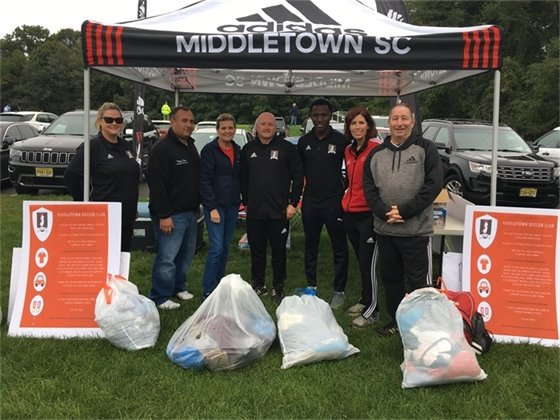 Middletown Soccer Club Clothing Drive