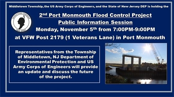 Port Monmouth Flood Control Project