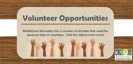 Recreation Volunteer Opportunities