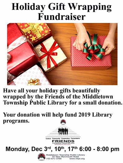 MTPL- Holiday Gift Wrapping Fundraiser