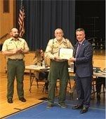 Boy Scout Cubmaster William Lindgren