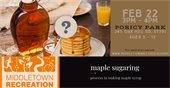 Maple Sugaring Event at Poricy Park