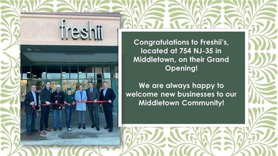 Freshii's Grand Opening