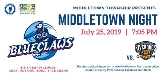 Blue Claws Middletown Night