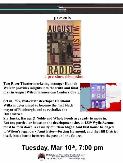 MTPL PRESENTS: August Wilson