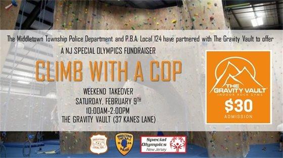 MTPD Gravity Vault Event- Feb 9th