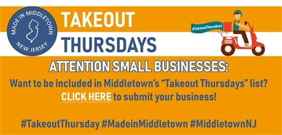 Takeout Thursdays Business Submissions