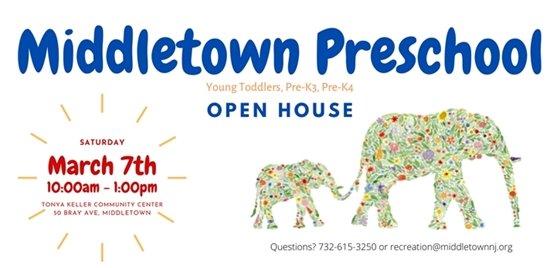 Middletown Preschool Open House