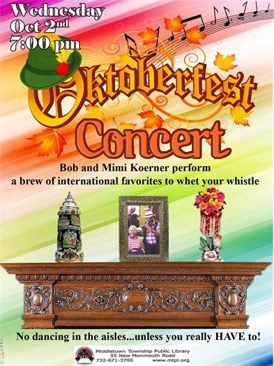 MTPL: Oktoberfest Concert