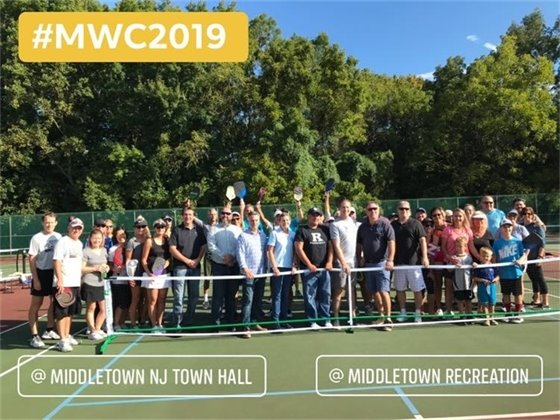 Pickleball Courts Opened/ Mayor's Wellness Campaign Event