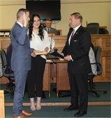 Tony Perry sworn in as Mayor.