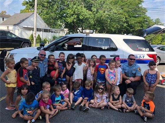 MTPD Preschool Visit