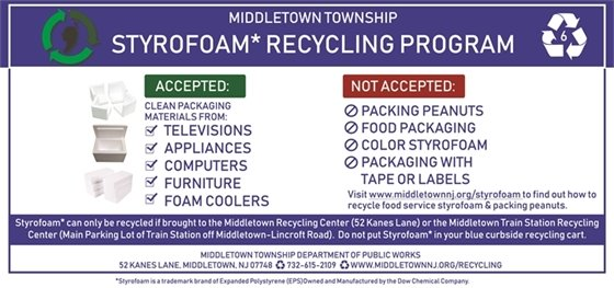 Styrofoam Recycling Guidelines