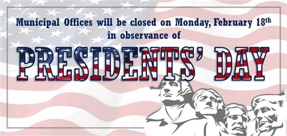 Presidents' Day- Offices Closed Feb 18th