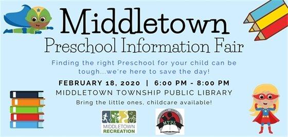 Middletown Preschool Information Fair