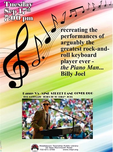 MTPL: Billy Joel Cover Band