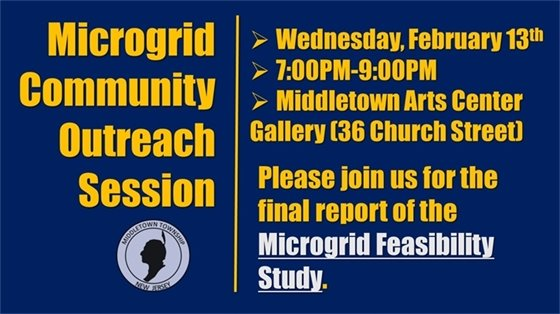 Microgrid Community Outreach Session