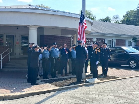 Flag Raising Ceremony for Detective Lieutenant Joseph Capriotti