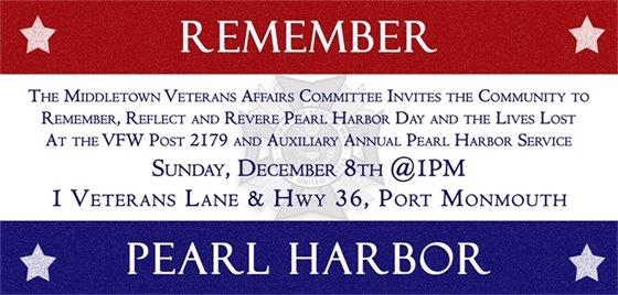 Remember Pearl Harbor- 12/8