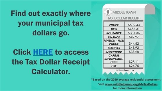 Tax Dollar Receipt Calculator
