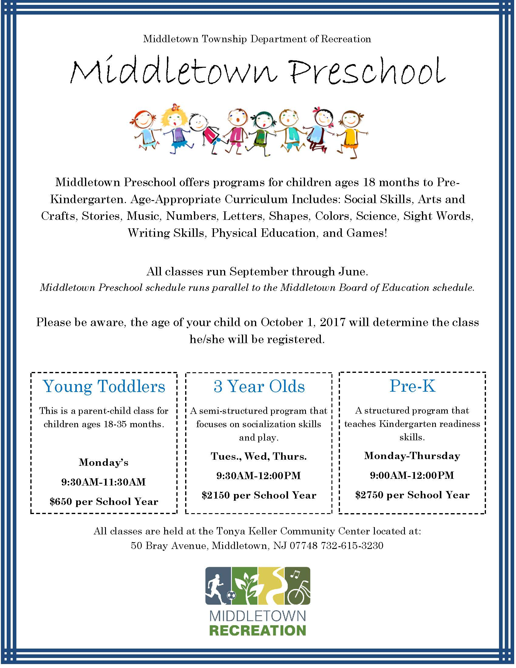 Middletown Preschool_ 2017