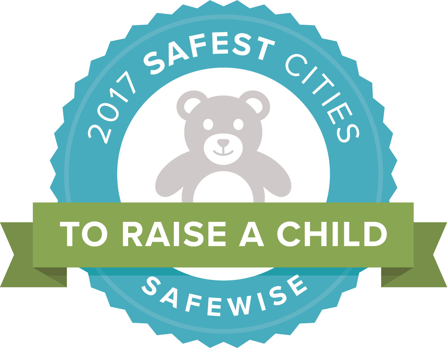 Safewise Safest Cities to Raise a Child Logo