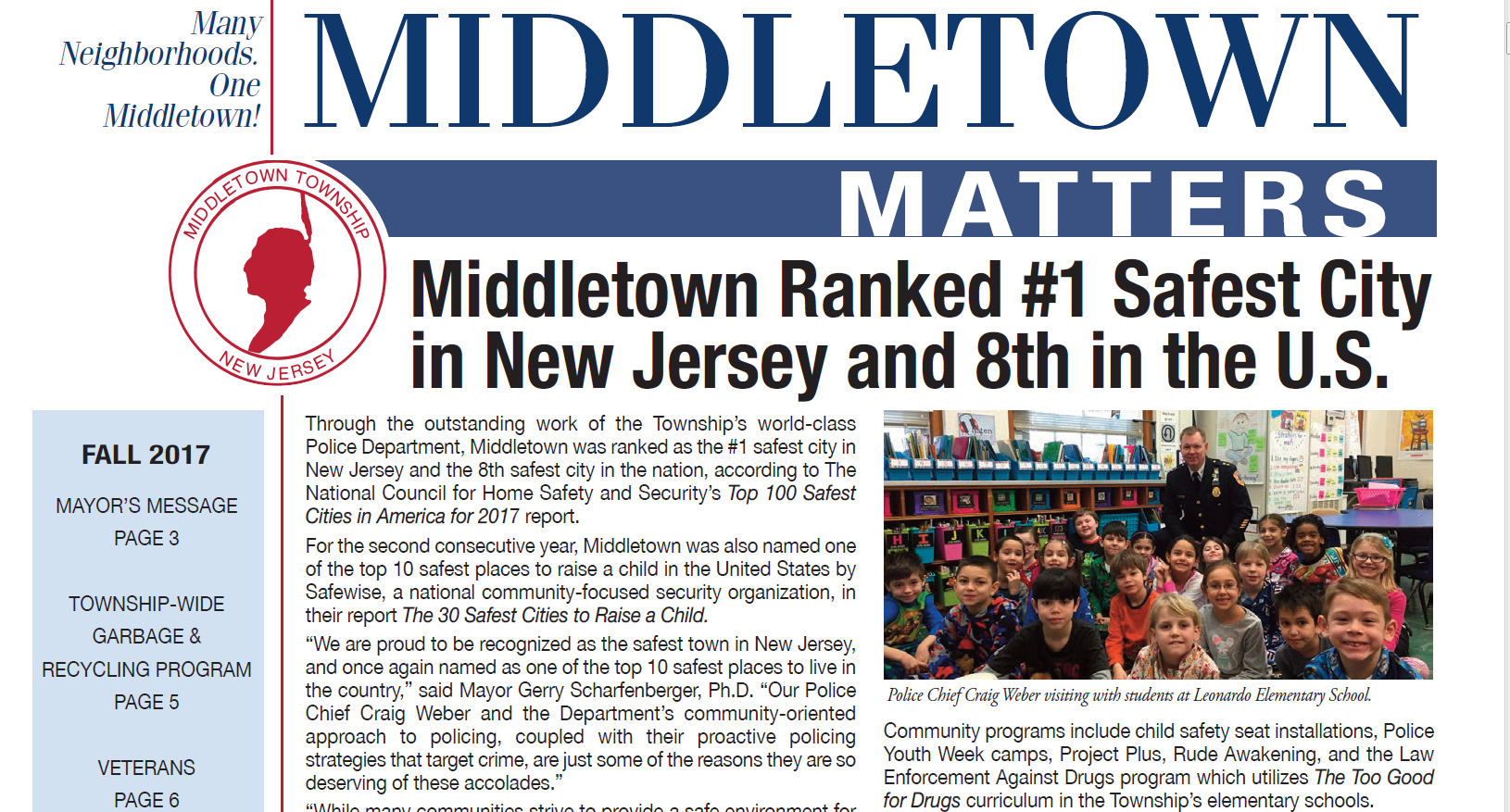 Middletown Matters Fall 2017