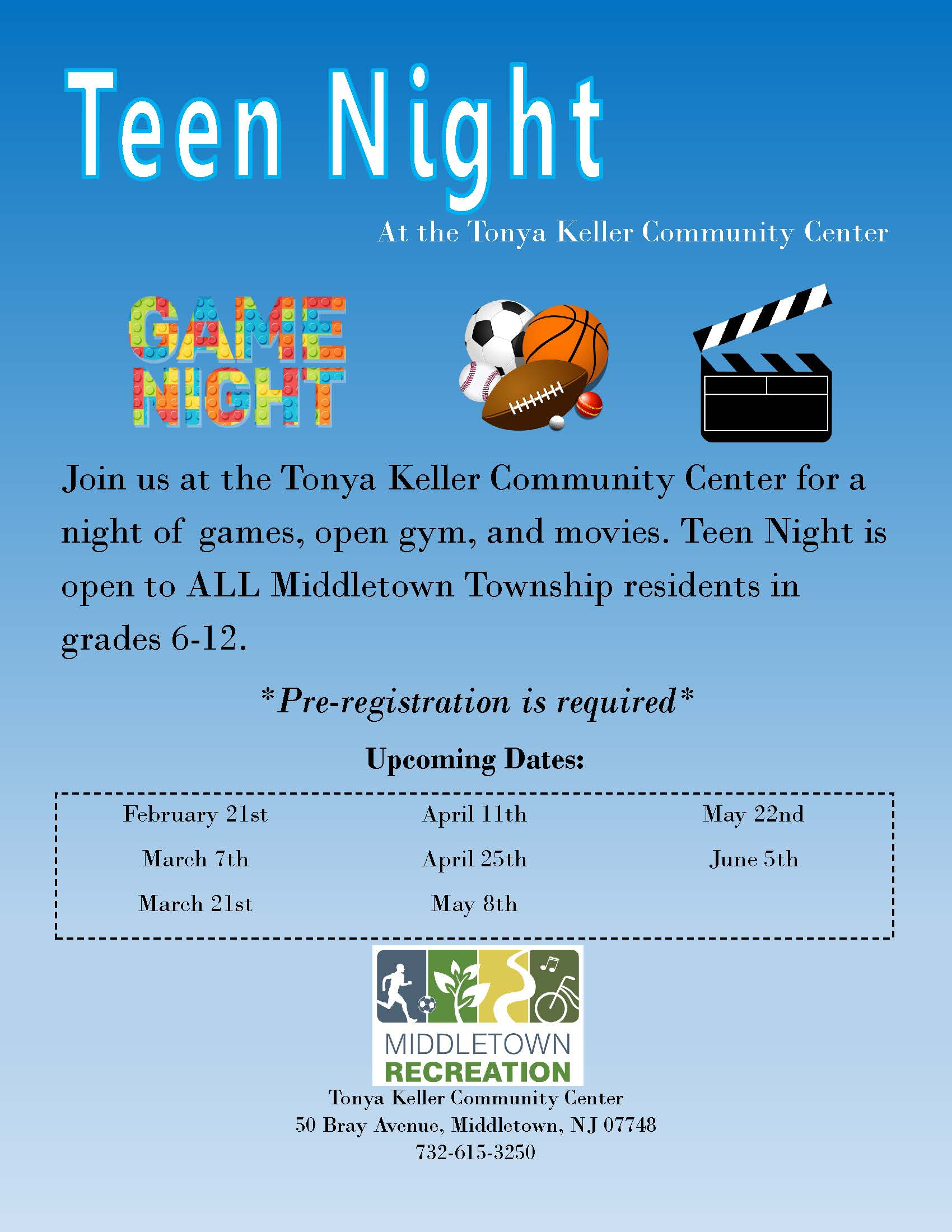 Teen Night 2018