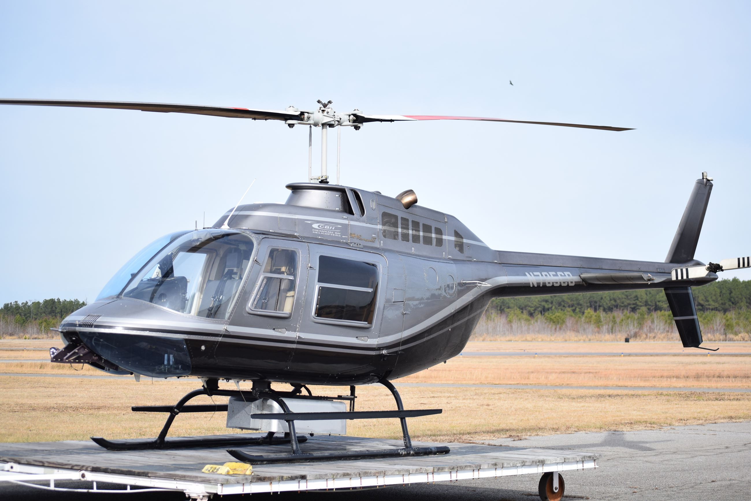 April 14 Helicopter Patrol N785CB-Bell 206B