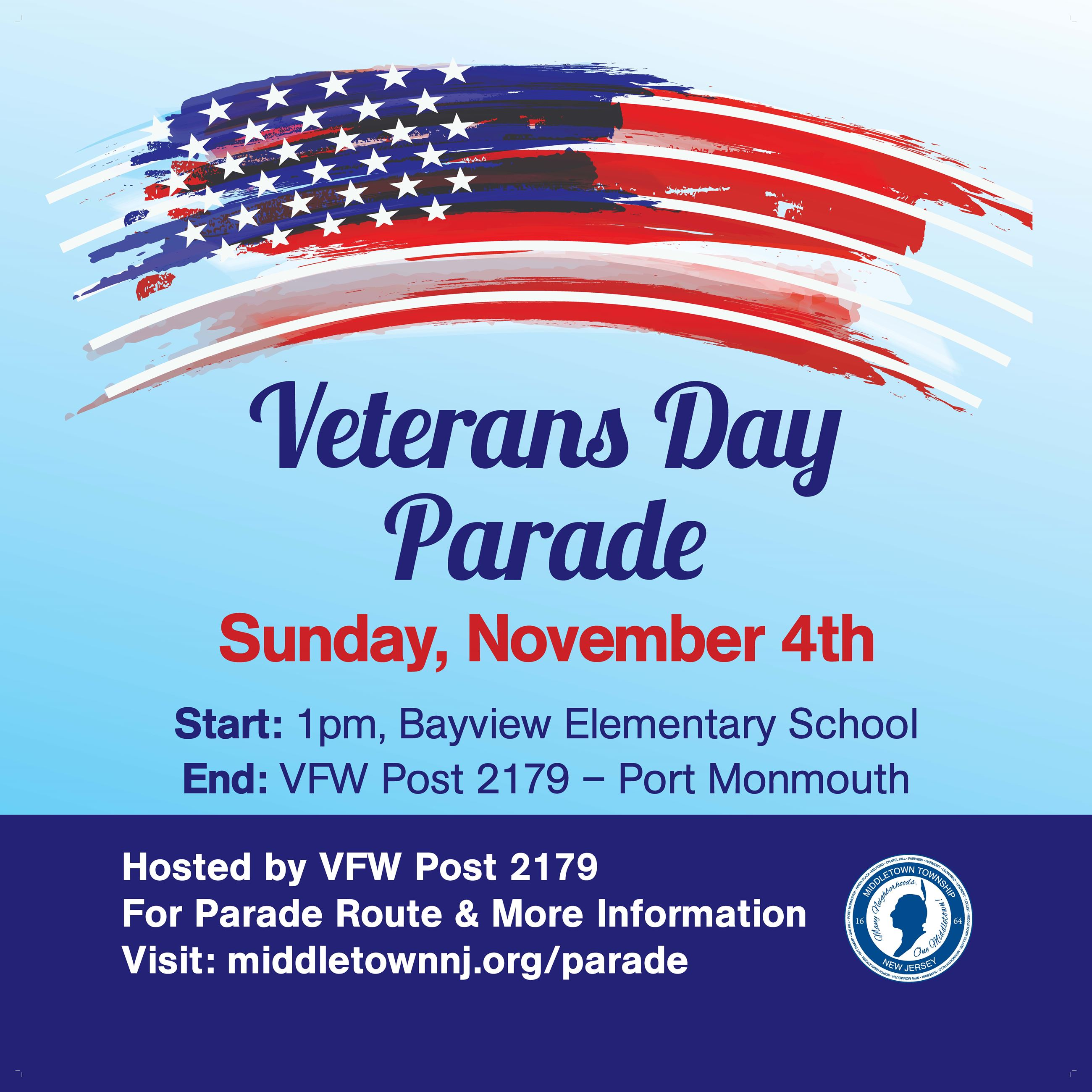 Veterans Day Parade - Full