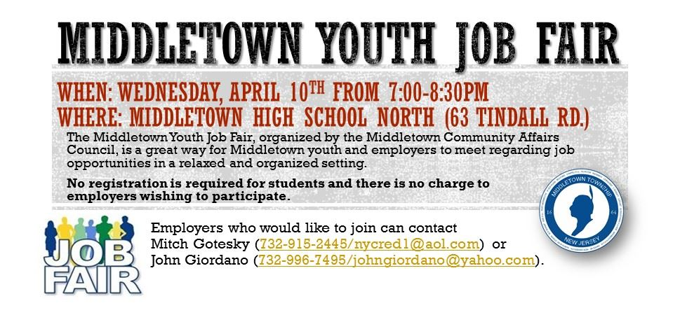 Middletown youth job fair-2019