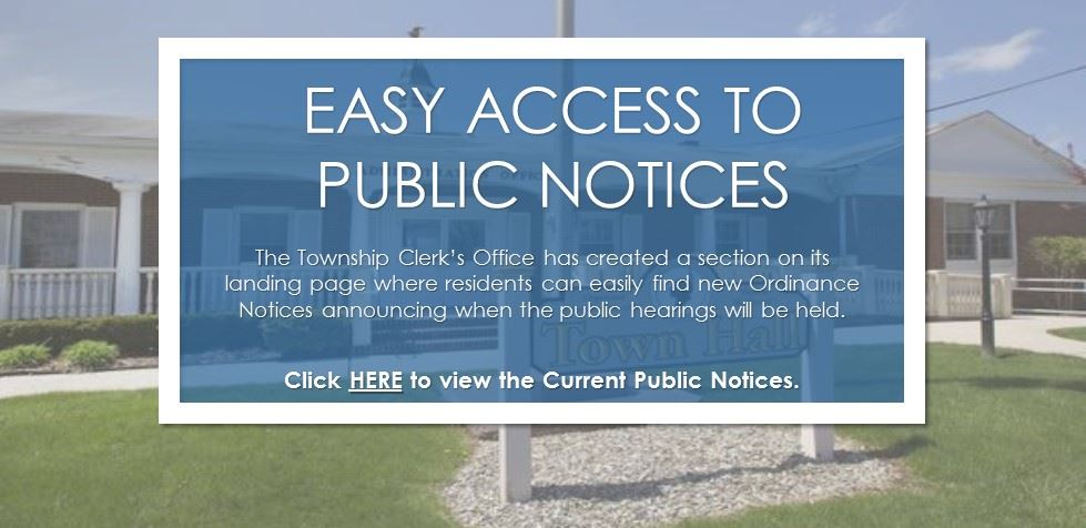 Easy Access to Public Notices