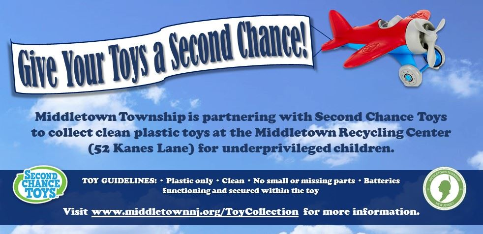Toy Donation- Second Chance Toys