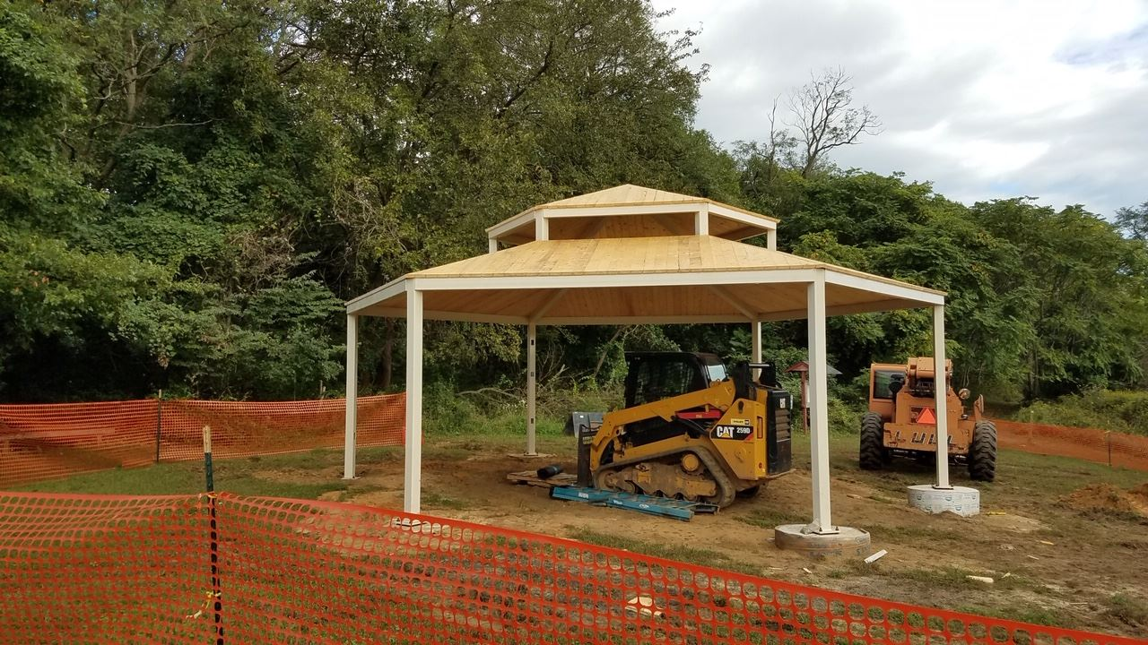 pavillion progress