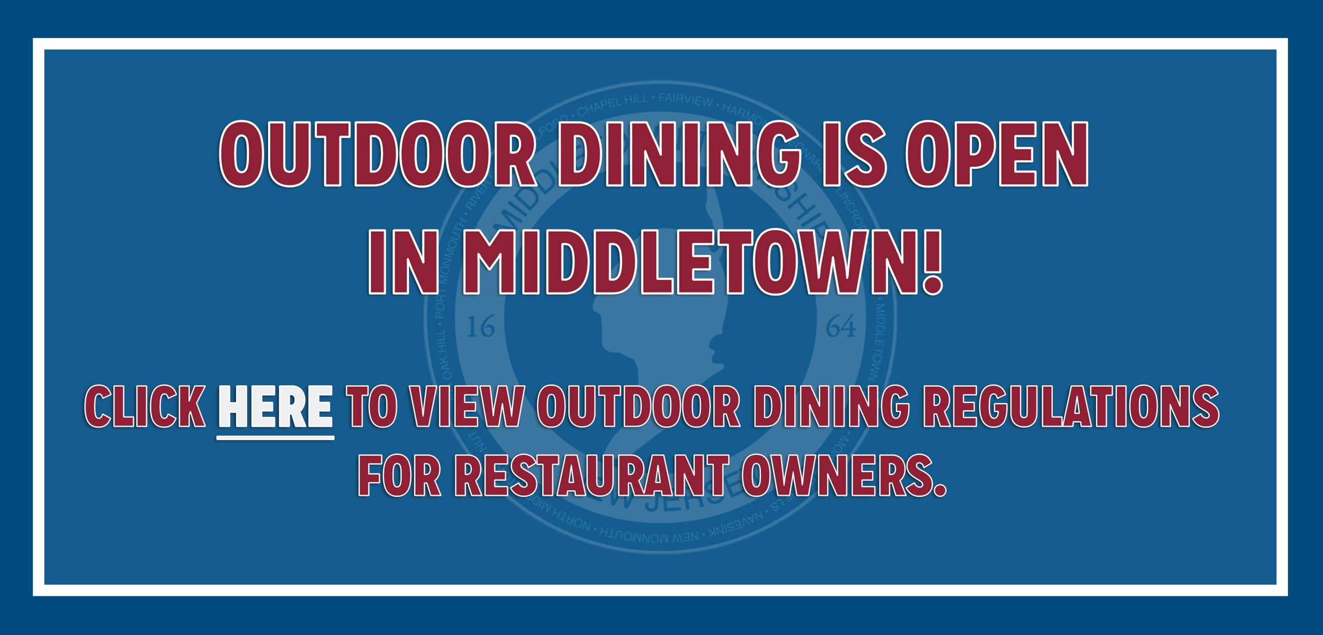 Outdoor Dining Regulations 61820
