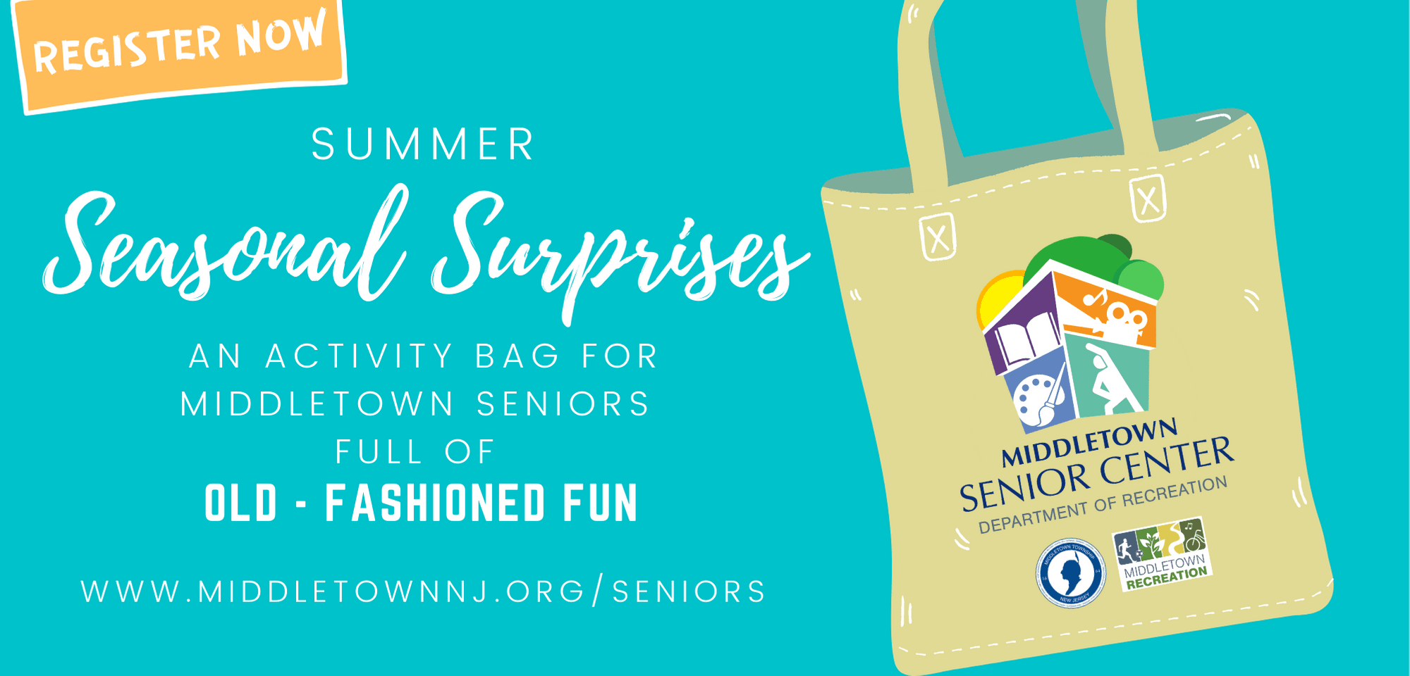 Register Now - Summer Seasonal Surprises