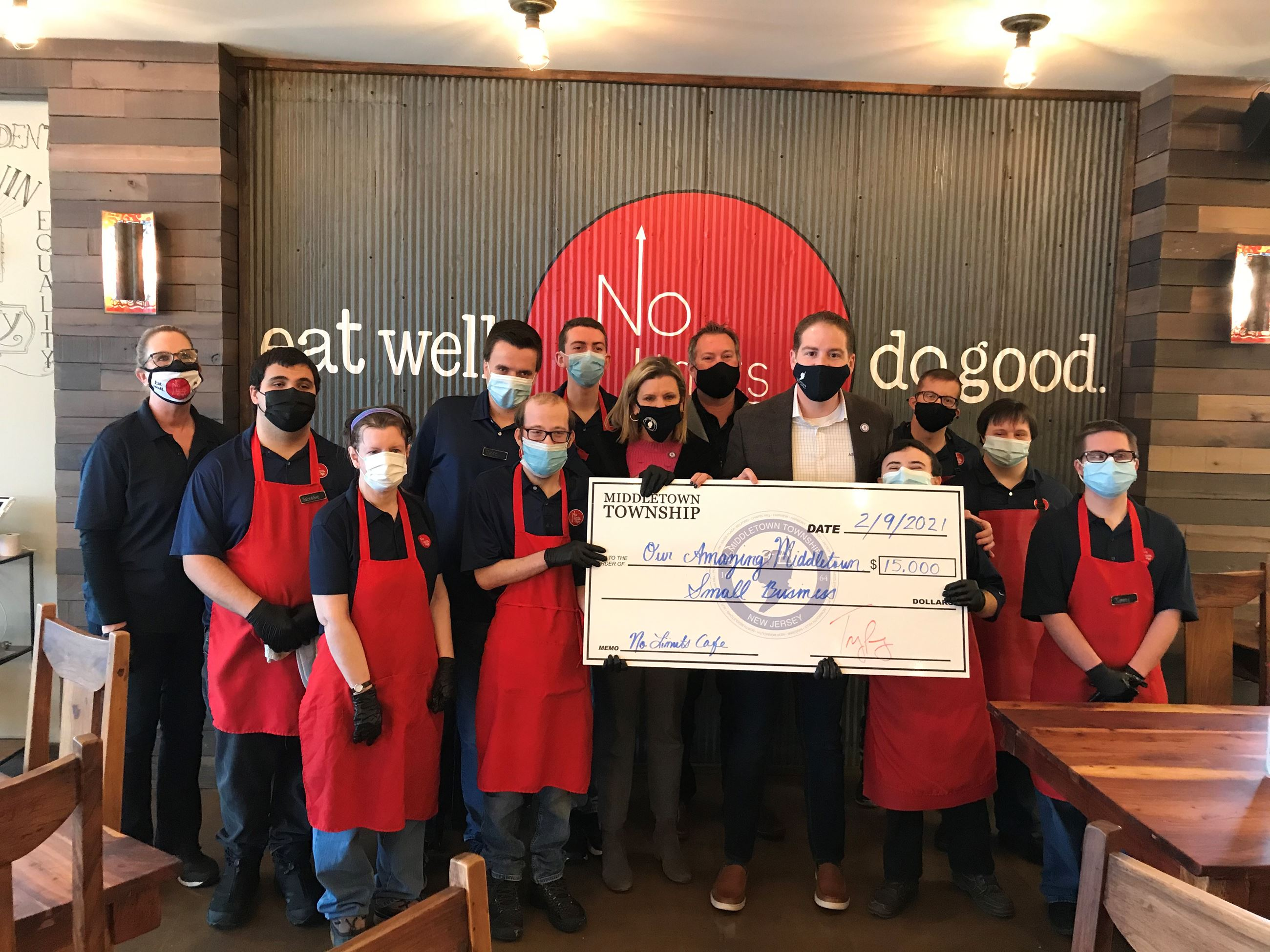 No Limits Cafe_MERP check presentation