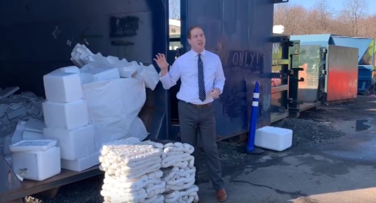 Capture Styrofoam Recycling Video Opens in new window